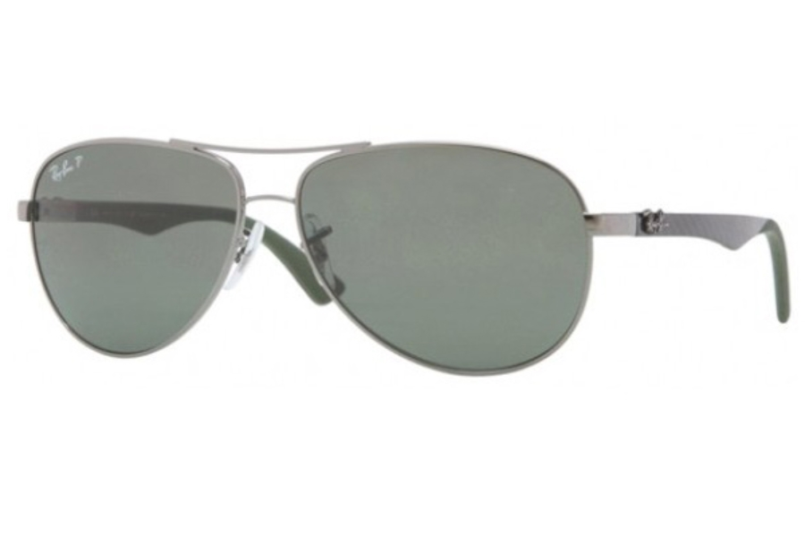 Ray-Ban RB 8313 Sunglasses in 004/N5 Gunmetal Polar Grey