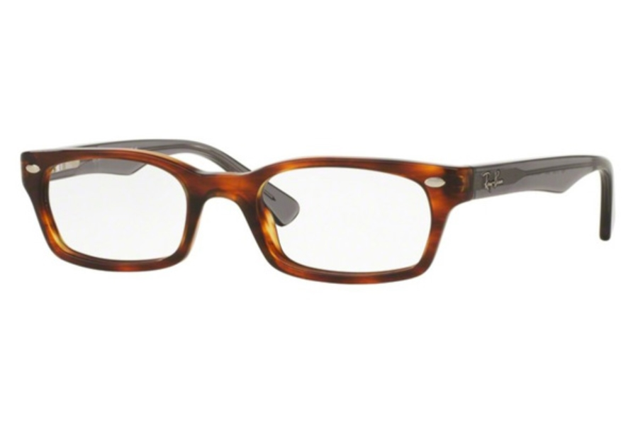 Ray-Ban RX 5150 Eyeglasses in 5607 Striped Havana