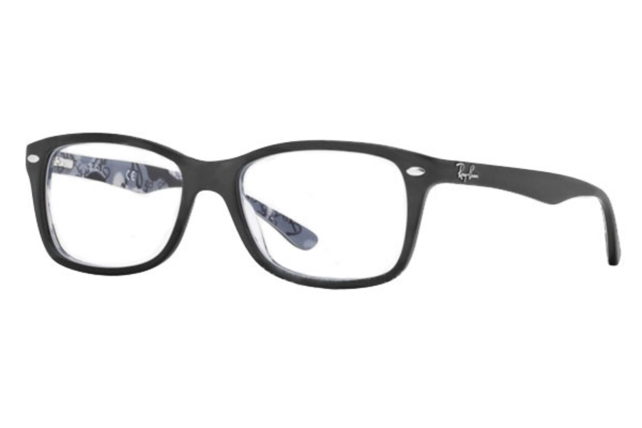 Ray-Ban RX 5228 Eyeglasses in 5405 Top Black On Texture Camuflage (50 & 53 Eyesizes Only)