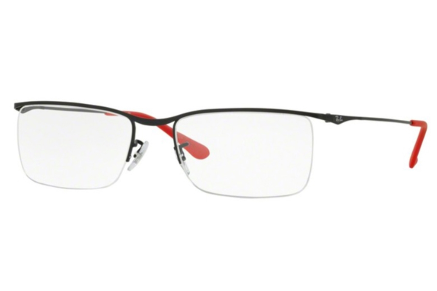 Ray-Ban RX 6370 Eyeglasses in 2503 Matte Black (Discontinued)
