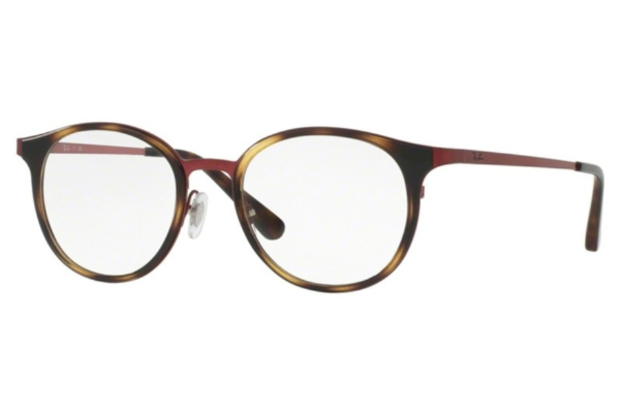 Ray-Ban RX 6372M Eyeglasses in 2922 Brushed Bordo