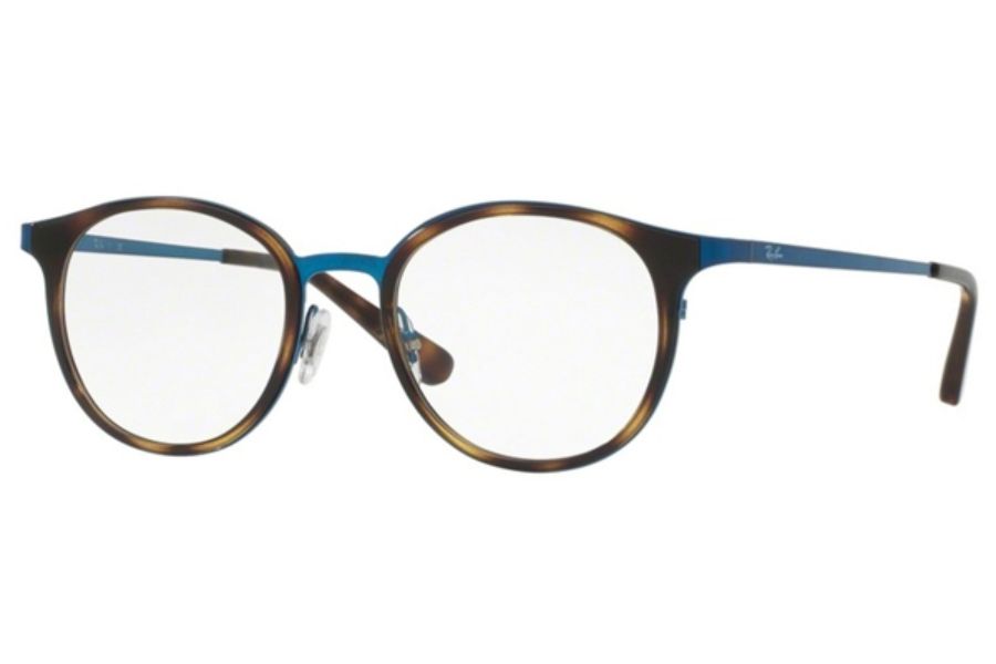 Ray-Ban RX 6372M Eyeglasses in 2924 Brushed Blue