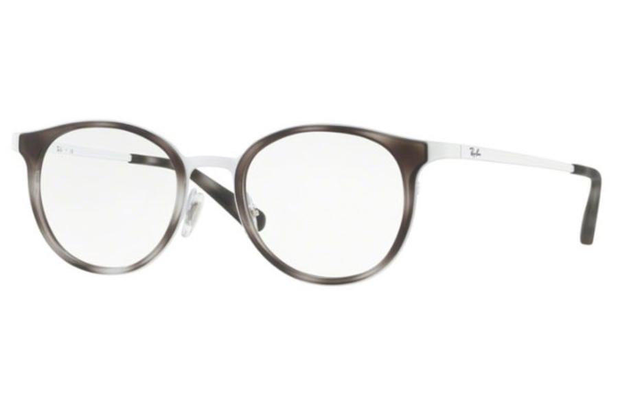 1626ec3b01c12 Ray-Ban RX 6372M Eyeglasses in 2957 White ...