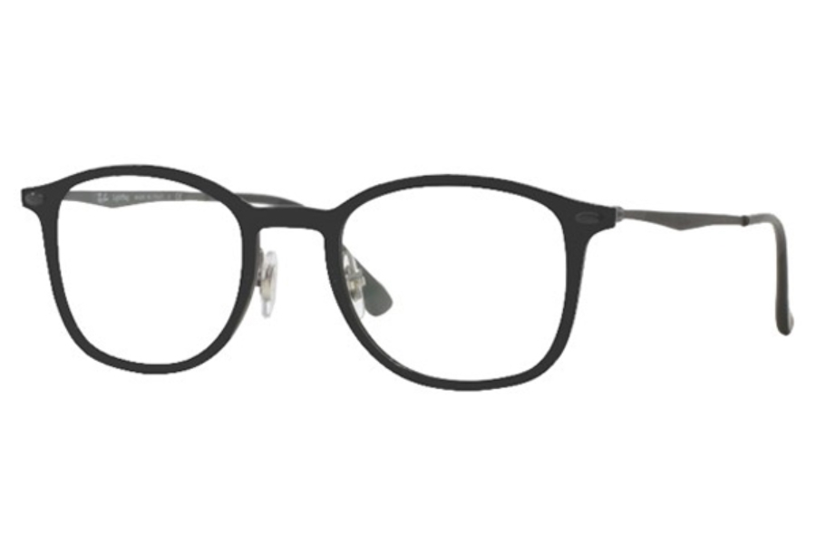 Ray-Ban RX 7051 Eyeglasses in 2077 Matte Black