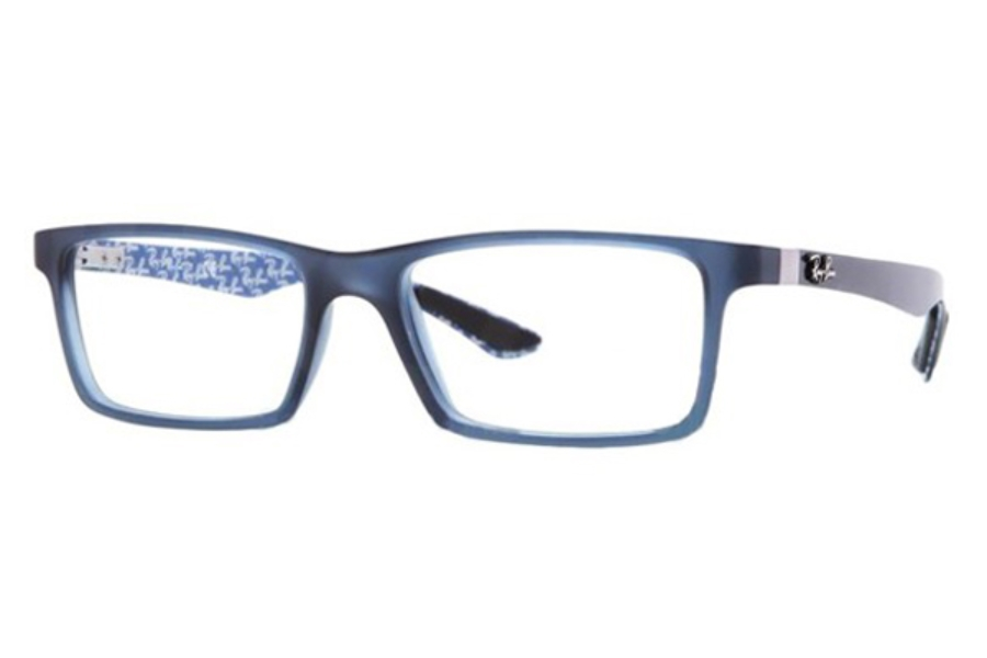 Ray-Ban RX 8901 Eyeglasses in 5262 Demi Gloss Blue