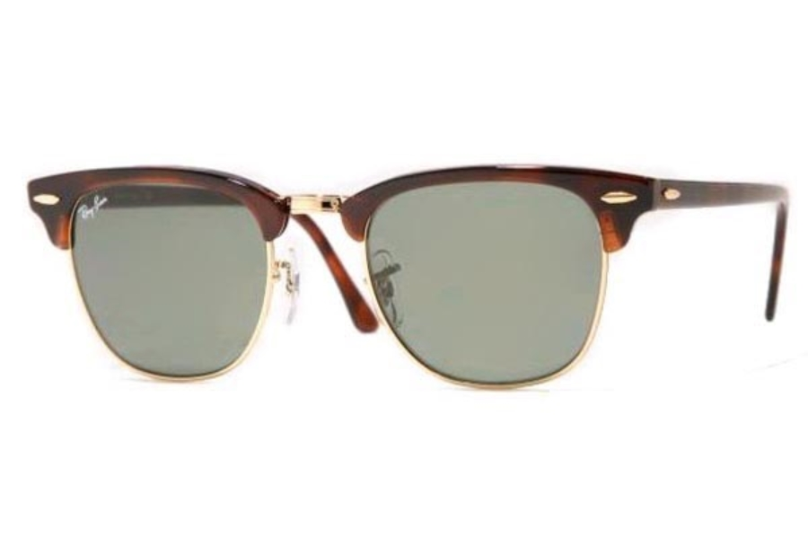 d830d396b ... 990/58 Red Havana Crystal Green Polarized; Ray-Ban RB 3016 Clubmaster  Sunglasses in Ray-Ban RB 3016 Clubmaster Sunglasses ...