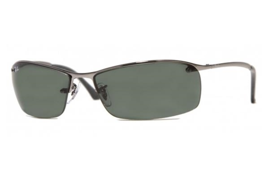 Ray-Ban RB 3183 (Top Bar Square) Sunglasses in Ray-Ban RB 3183 (Top Bar Square) Sunglasses
