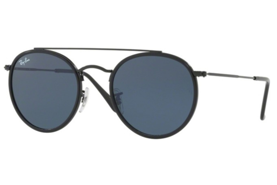 Ray-Ban RB 3647N Sunglasses in 002/R5 Black / Grey