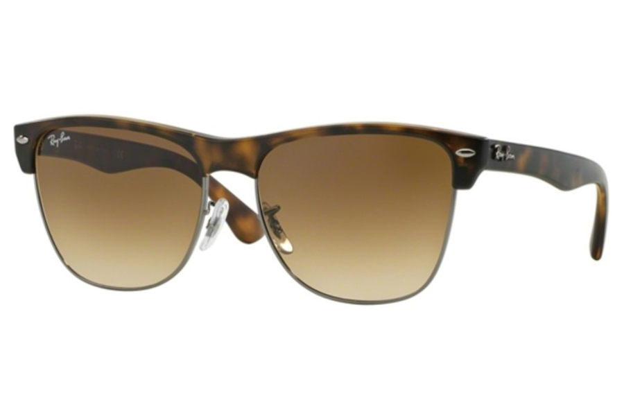 Ray-Ban RB 4175 Sunglasses in 878/51 Demi Shiny Havana/Gunmetal Crystal Brown Gradient