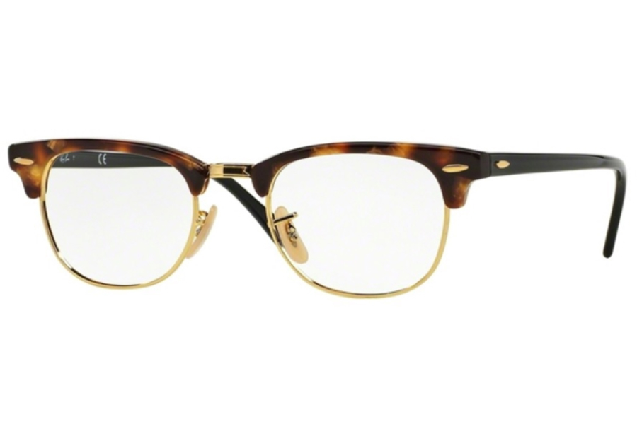 Ray-Ban RX 5154 Clubmaster Eyeglasses in 5494 Brown Havana (49 eye size only)
