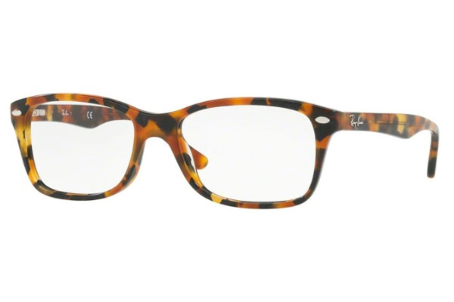 Ray-Ban RX 5228 Eyeglasses in 5712 Havana Brown/Grey