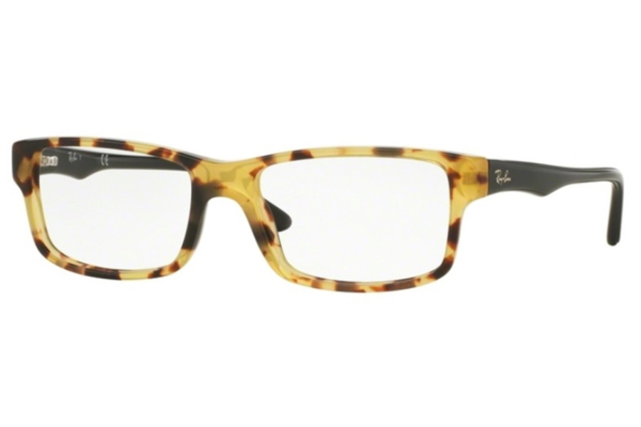 Ray-Ban RX 5245 Eyeglasses in 5608 Yellow Havana (52 & 54 Eyesizes Only)