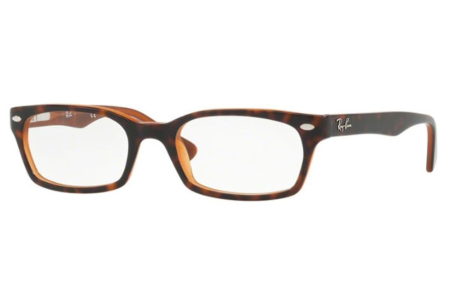 Ray-Ban RX 5150 Eyeglasses in 5713 Top Havana On Light Brown