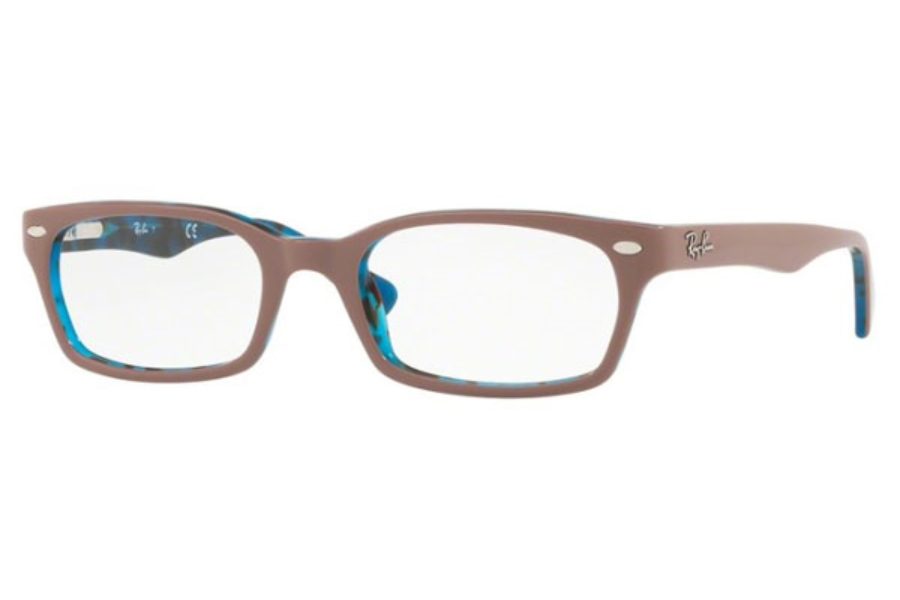 Ray-Ban RX 5150 Eyeglasses in 5715 Top Light Brown On Havana Blue (48 & 50 Eyesizes Only)