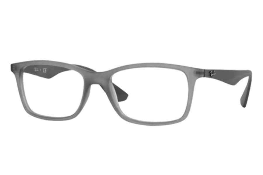 Ray-Ban RX 7047 Eyeglasses in 5482 Matte Trasp Grey