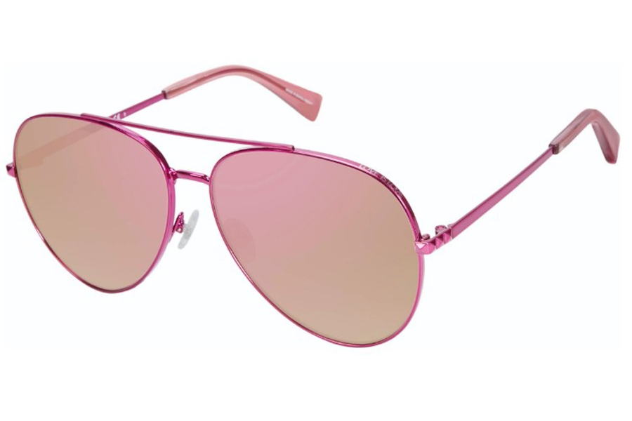 Rebecca Minkoff Stevie 4/S Sunglasses in 0MU1 Fuchsia (VQ Multipink Cp) (Only 63 Eye Size Available)