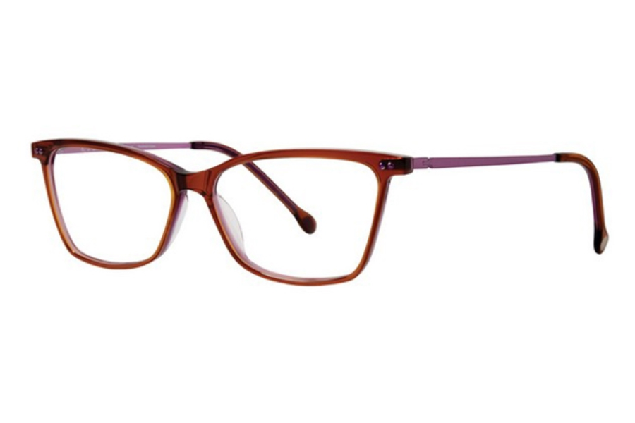 Red Rose Naples Eyeglasses in 6940 Sunset/Orchid