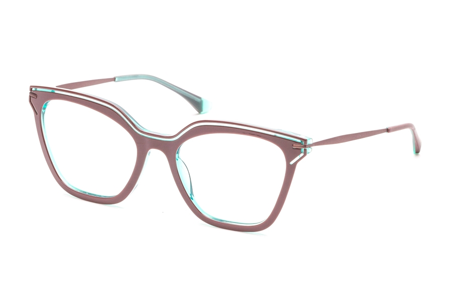 Redele Araihc Eyeglasses in 2 Ruby/Aqua