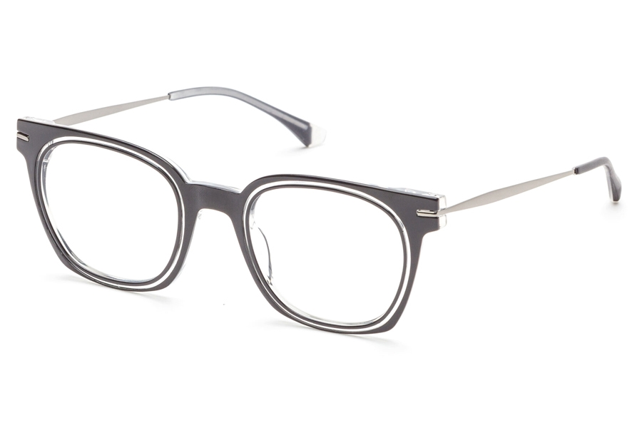 Redele Theolds Eyeglasses in 1 Black Crystal
