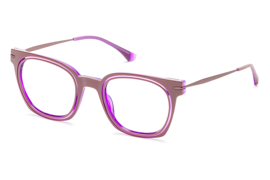 Redele Theolds Eyeglasses in 5 Ruby/Purple