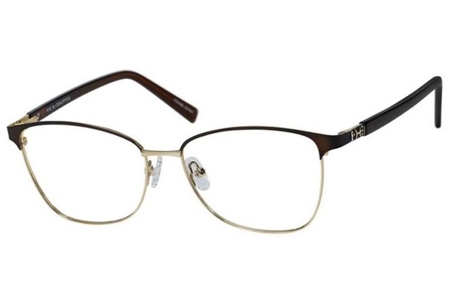 Reflections R792 Eyeglasses in Chocolate/Gold