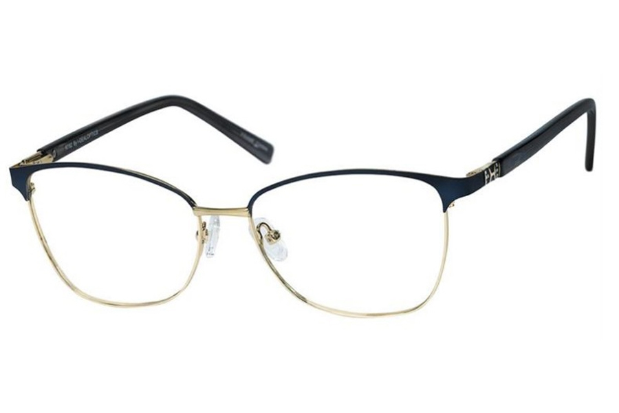 Reflections R792 Eyeglasses in Navy/Gold