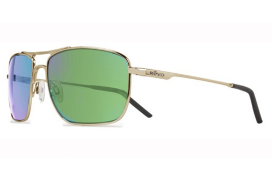 Revo RE 3089 Groundspeed Sunglasses in 02 Gold/Green Water