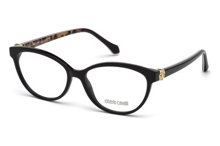 Roberto Cavalli RC5072 Marliana Eyeglasses in 005 - Black/other