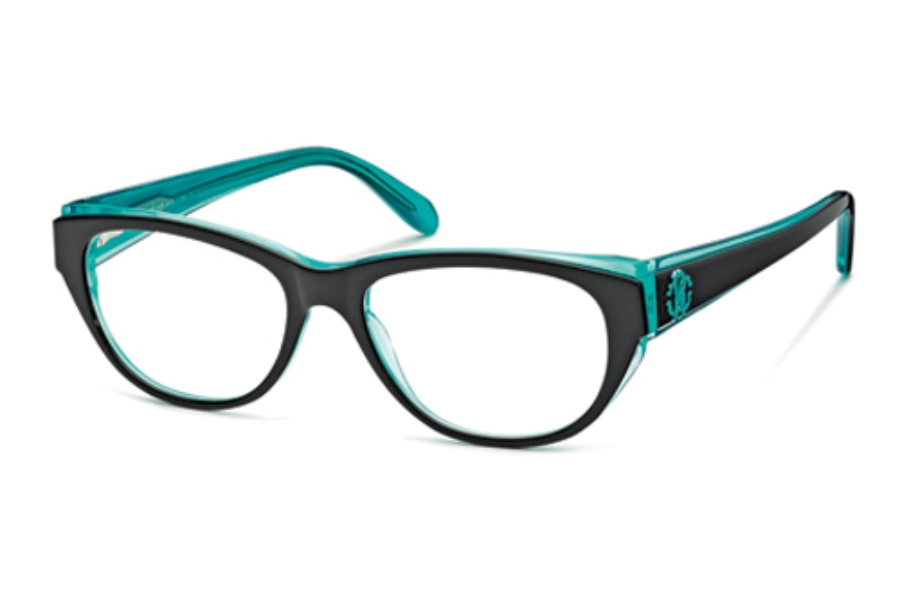 Roberto Cavalli RC0685 Eyeglasses in 05A Black Green