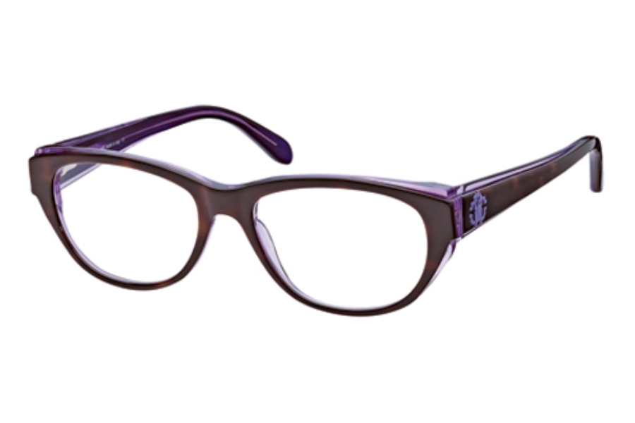 Roberto Cavalli RC0685 Eyeglasses in 55A Brown Purple