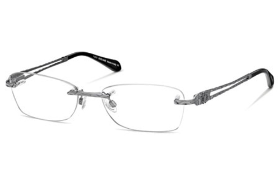 Roberto Cavalli RC0701 Eyeglasses in 008 Shiny Gunmetal
