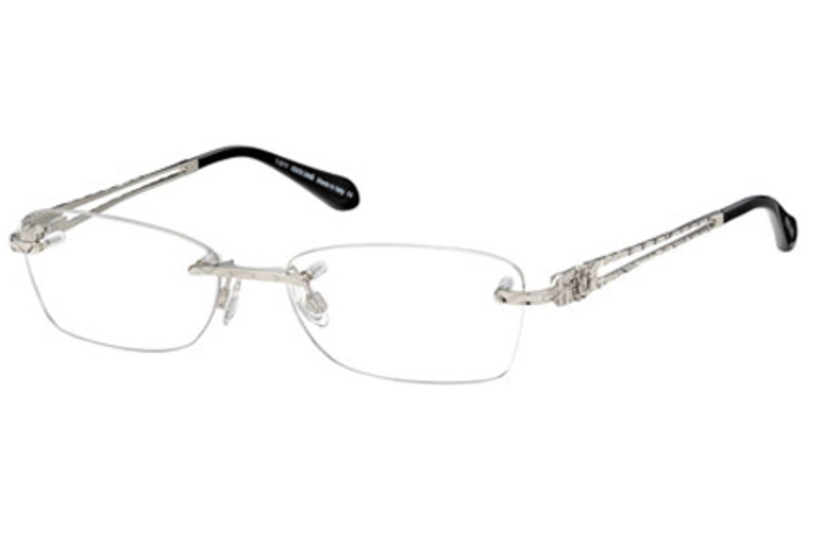 Roberto Cavalli RC0701 Eyeglasses in 016 Shiny Silver