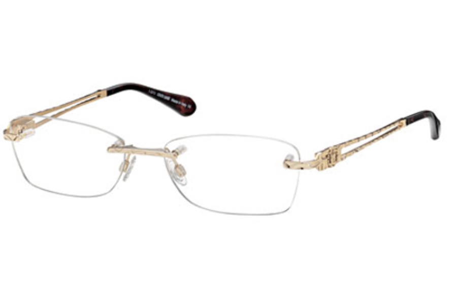 Roberto Cavalli RC0701 Eyeglasses in 028 Shiny Rose Gold
