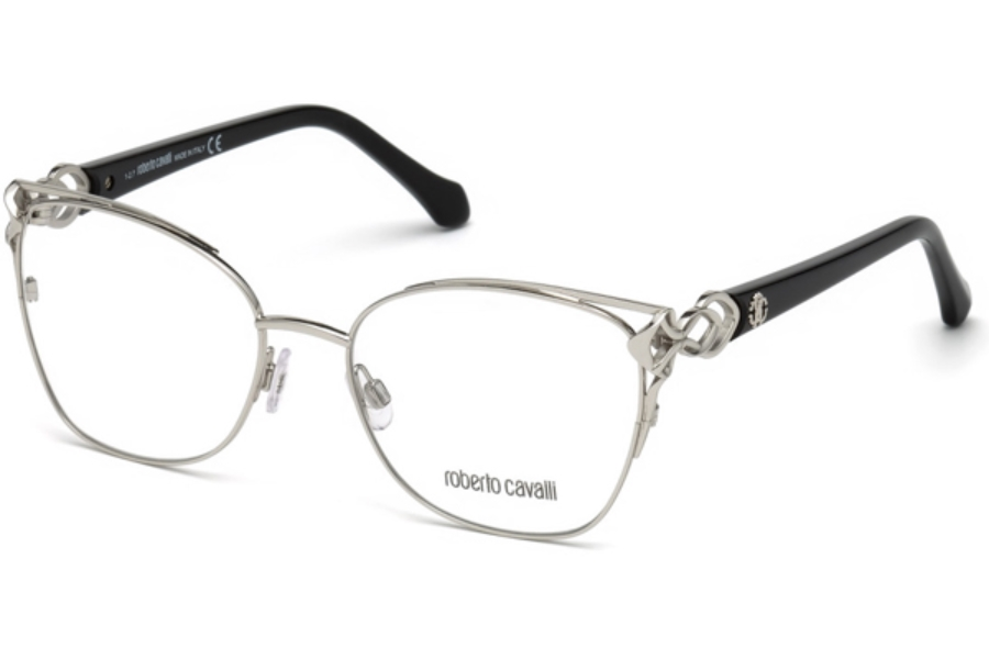 Roberto Cavalli RC5062 Londa Eyeglasses in 016 - Shiny Palladium