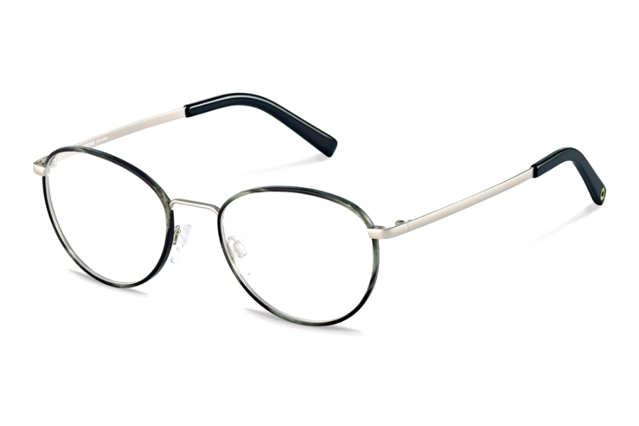 Rocco by Rodenstock RR217 Eyeglasses in A Grey Structured Silver