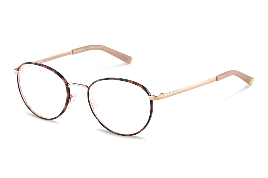 Rocco by Rodenstock RR217 Eyeglasses in D Rose Havana Rose Gold