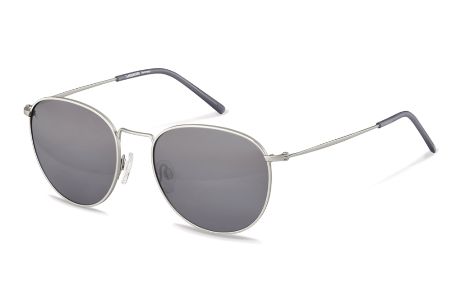 Rodenstock R1426 Sunglasses in D Silver Grey w/Smoky Grey