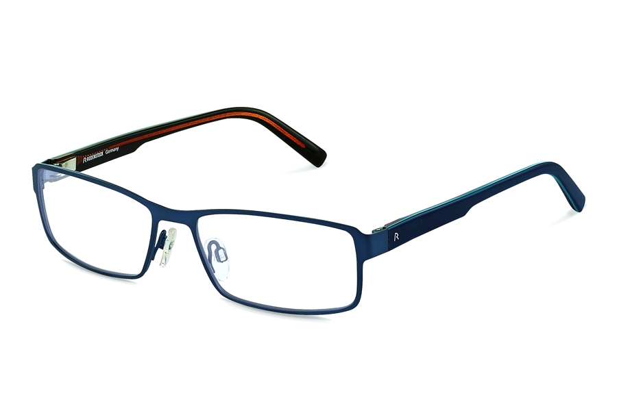 Rodenstock R2596 Eyeglasses in B Dark Blue