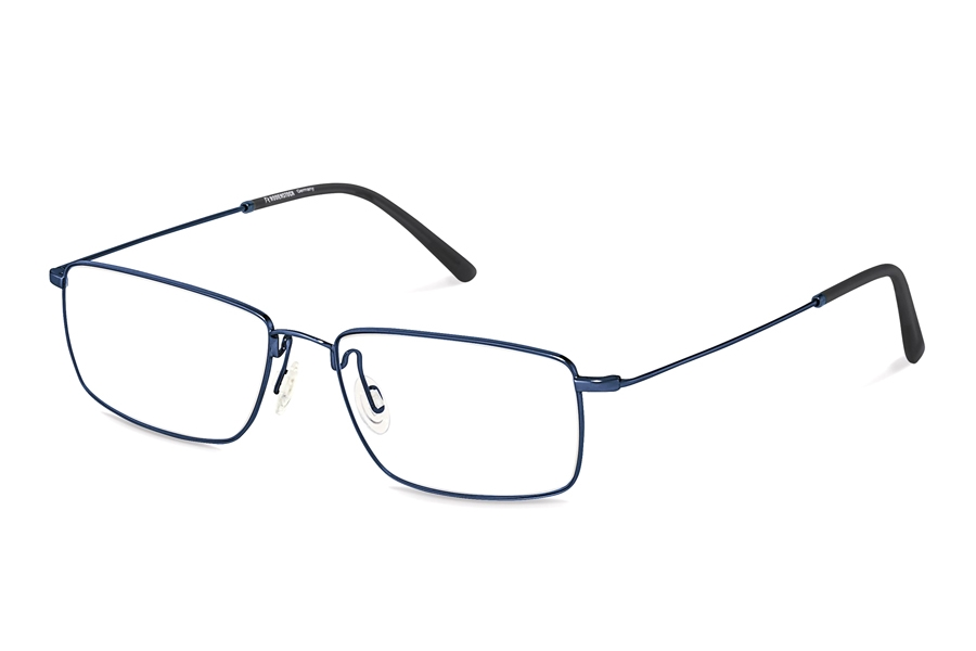 Rodenstock R2618 Eyeglasses in B Dark Blue Black