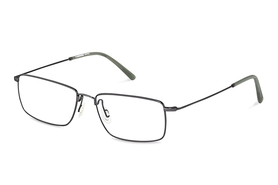 Rodenstock R2618 Eyeglasses in D Dark Gunmetal Green