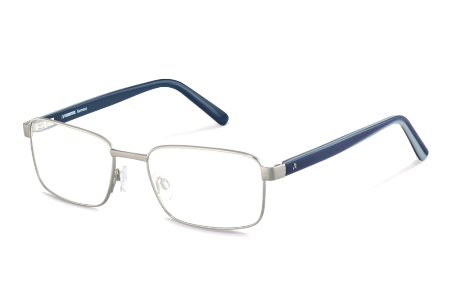 Rodenstock R2620 Eyeglasses in A Light Gunmetal Blue Layered