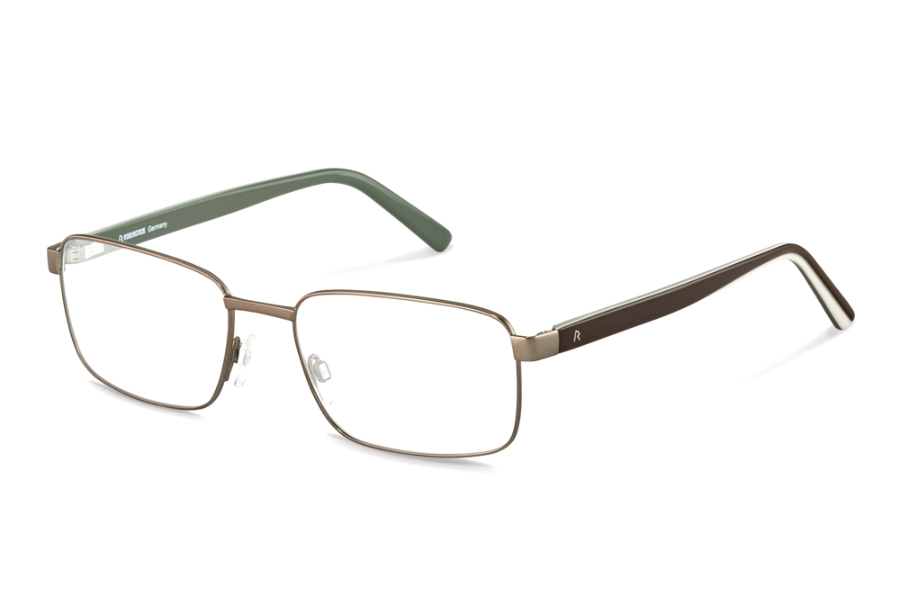 Rodenstock R2620 Eyeglasses in D Brown Brown Layered