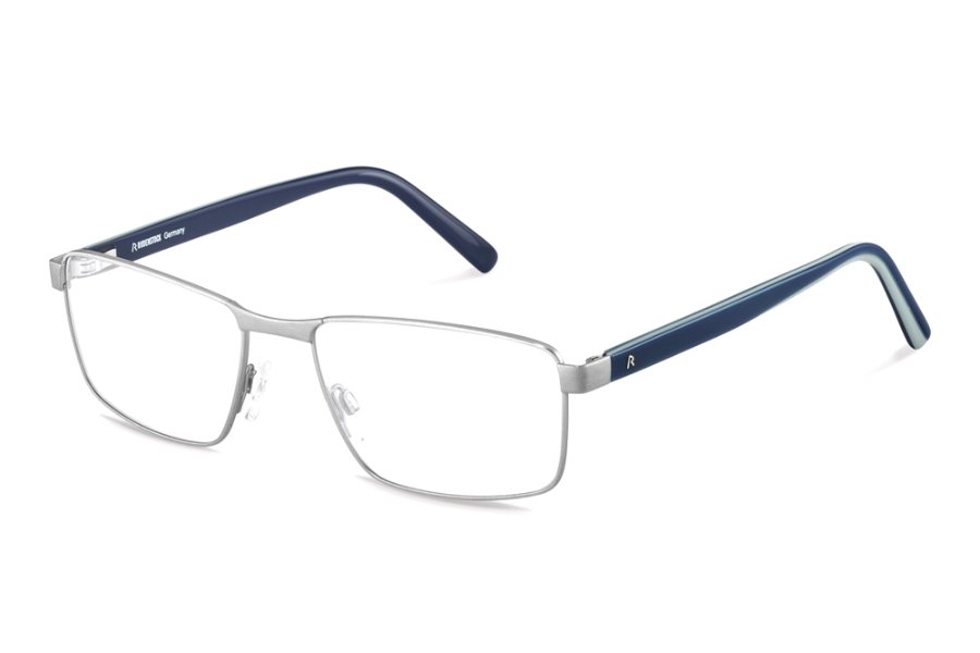 Rodenstock R2621 Eyeglasses in D Light Gunmetal Blue Layered