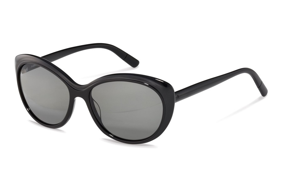Rodenstock R3309 Sunglasses in A Black w/Grey Polarized