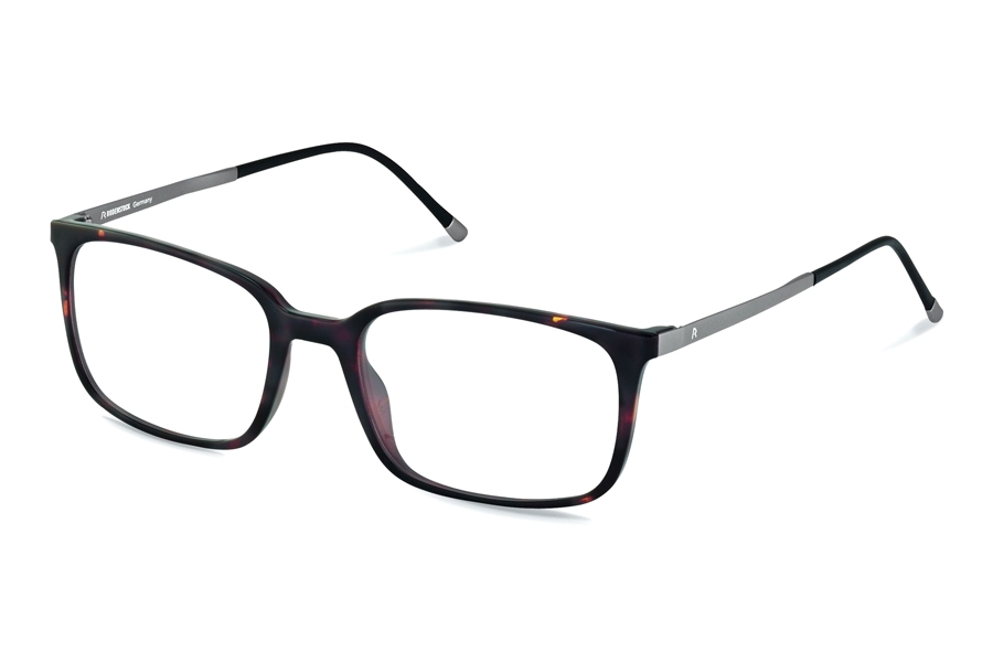 Rodenstock R5291 Eyeglasses in C Dark Havana Light Gunmetal