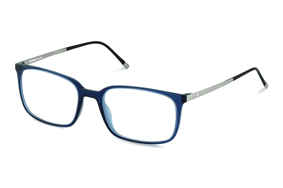 Rodenstock R5291 Eyeglasses in D Dark Blue Palladium