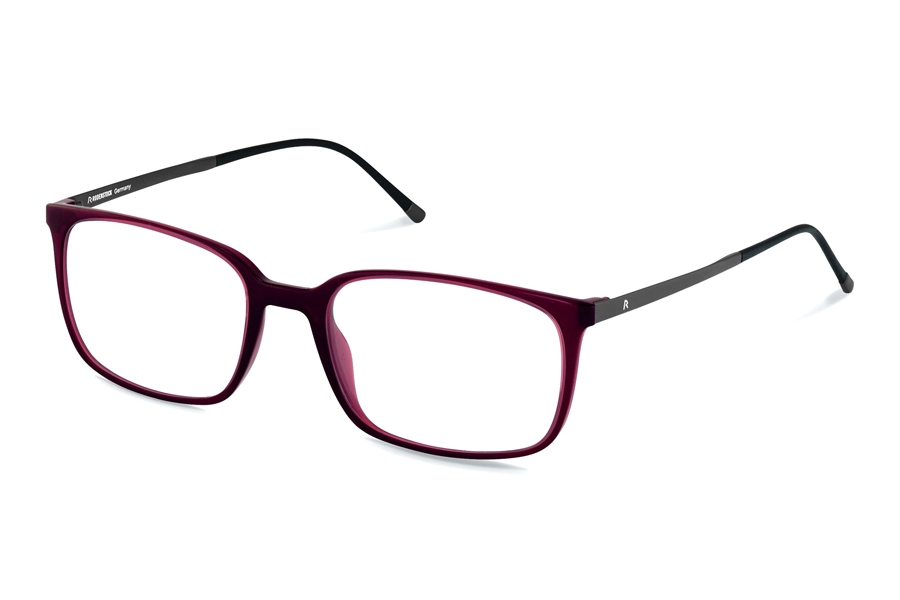 Rodenstock R5291 Eyeglasses in G Dark Red Gunmetal