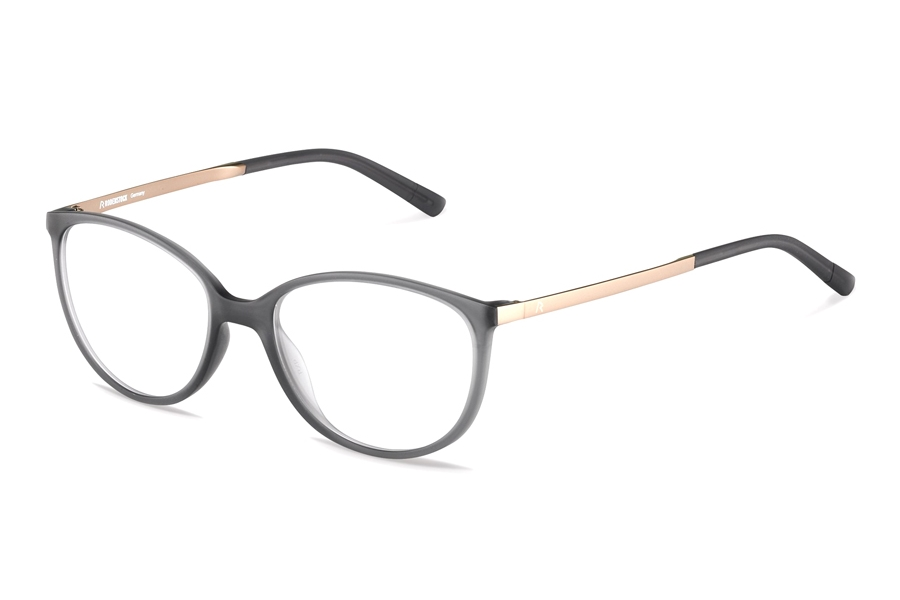 Rodenstock R5316 Eyeglasses in A Dark Grey Rose Gold