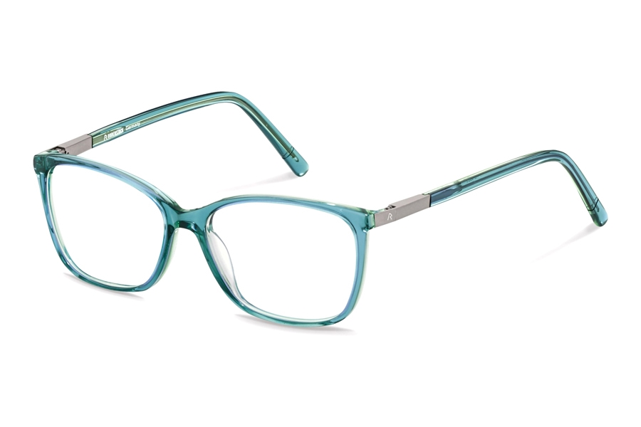 Rodenstock R5321 Eyeglasses in E Blue Layered