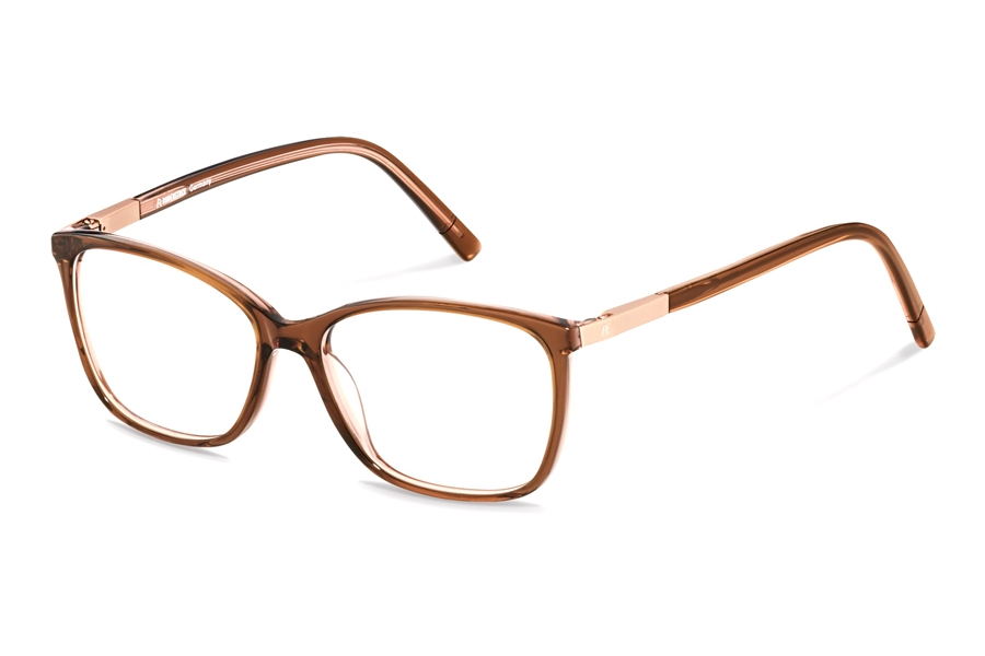 Rodenstock R5321 Eyeglasses in F Dark Brown Layered